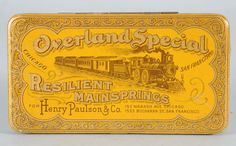 Overland Special Resilient Mainsprings Tin