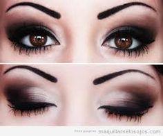 Resultado de imagen para estilos de maquillaje para ojos paso a paso