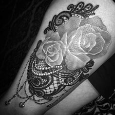 roses and lace