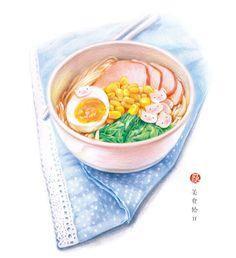 《美食绘Ⅱ》,一本有幸福味道的手绘美食技法书![馋嘴]早午餐、下午茶、轻晚餐......将对美食的喜爱倾注于笔尖,描绘出那些鲜美诱人,且让我们的生活充满情调与温馨的美食吧!