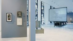 View of the exhibition hall.  ¿Buñuel!  The look of the century, 1996