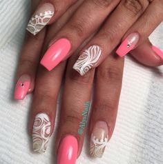 In The Clear by AlysNails via @nailartgallery #nailartgallery #nailart #nails #polish #alysnails