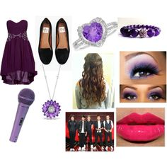 """""""Trying out for X Factor with all of the boys!"""" by directioner-tommogirl-143 on Polyvore"""