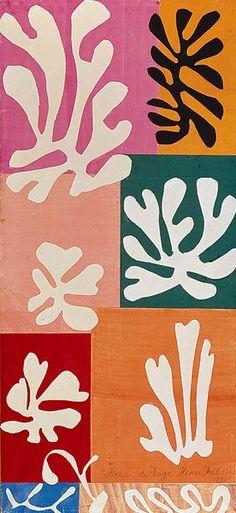 Henri Matisse  Snow Flowers  1951