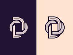Dribbble - DO Monogram by Matt Vergotis