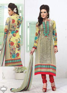 Conspicuous Multicolor Net Churidar Salwar Suit, Product Code :9800, shop now http://www.sareesaga.com/conspicuous-multicolor-net-churidar-salwar-suit-9800  Email :support@sareesaga.com What's App or Call : +91-9825192886