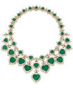 Marie Poutine's Jewels & Royals: Elegant Green Necklaces I