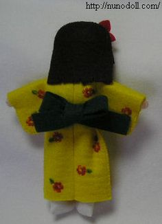 clothes for little Japanese doll.