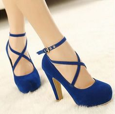 New Women Pumps Spring Summer Autumn Platform Suede Shoes Fashion High Heels  Bridal Shoes f33bd4845c3e