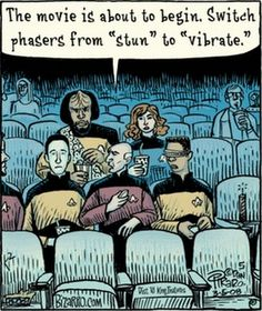 Trekkie's at the movies. For more Funny Memes go to: http://www.badmeth.com/hilarious-star-trek-memes-21-pictures/