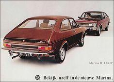 Morris 1976 Morris Marina, Austin Cars, Morris Minor, Mode Of Transport, Citroen Ds, Commercial Vehicle, Old Cars, Motor Car, Volvo