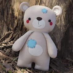 Really cute and simple teddy, pattern is for sale but thinking I can do this one.