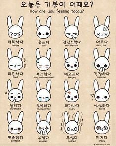 you can read hangul, then this will be really helpful and fun :) Let's have a Korean conversation! How are you feeling? Korean Words Learning, Korean Language Learning, Spanish Language, French Language, Learning Spanish, Italian Language, Learning Italian, German Language, How To Speak Korean