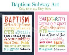 I am totally going to get these for each of my kids when they are baptized... for their room