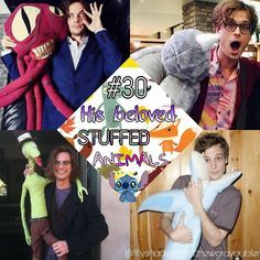 """At what point do you acknowledge the fact that you have more stuffed animals in your living room than any norman guy should?"" - Matthew Gray Gubler My favourite one is the octopus I don't know why hahaha! What's your favourite one guys? Thank you for all your love and support as always! #matthewgraygubler #matthew #gray #gubler #spencerreid #reid #drspencerreid #drreid #criminalminds #tvseries #funny #gublerland #imgublering #halloween #QI187 #gube #smile #laugh #gublerdreamtime…"