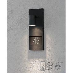 Konstsmide Modena numerovalaisin (musta)