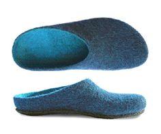 Felt Shoes, Men's Shoes, Wool Felt, Merino Wool, Slippers, How To Wear, Felt Projects, Html, Industrial