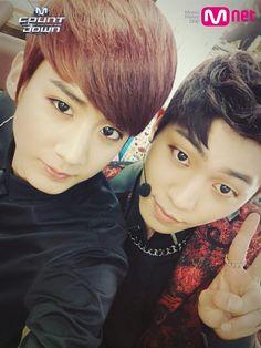 Teen top's Chunji & Changjo ~ Happy birthday to Chunji! Oct 5th