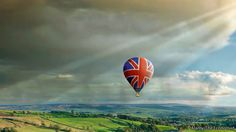 Balloon over landscape. Image from The Economist