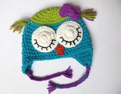 Hey, I found this really awesome Etsy listing at https://www.etsy.com/listing/254757429/sleeping-owl-hat-crochet-wool-owl-hat