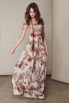 For Love & Lemons - SIERRA MAXI DRESS