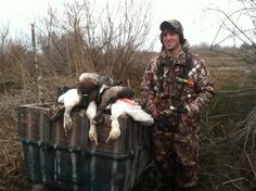 Solo hunt last year. Going for quality not quantity, killed some mallards, wigeon, sprig, snows and a speck!