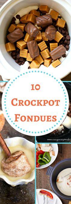Crockpot Fondues