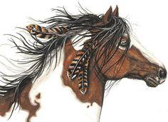 """Majestic Horse"" par AmyLyn Bihrle"