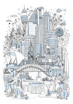 All the buildings in Sydney | James Gulliver Hancock