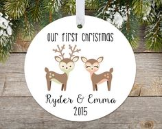 Baby Twins First Christmas Ornament Boys or by AdornamentsNY ...