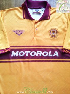 Relive Motherwell's 1994/1995 season with this vintage Pony home football shirt.