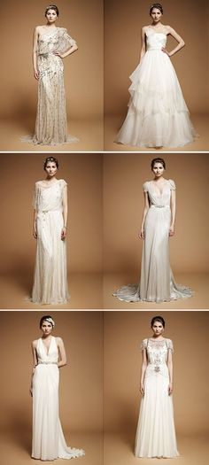 mad love for Jenny Packham. i want all.