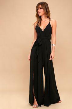 476d7d963cb Sheinside Knot Front Pink Jumpsuit Women Sleeveless Solid Mid Waist ...