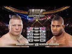 Fight Night Rotterdam Free Fight: Alistair Overeem vs Brock Lesnar