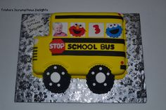 Ride with Elmo Cake By Patricia Stanish