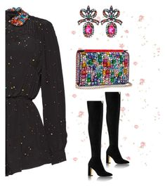 """""""Untitled #858"""" by crissycortez ❤ liked on Polyvore featuring Gucci and Christian Louboutin"""
