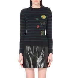 CLAUDIE PIERLOT Magneto knitted jumper
