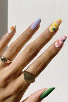 Nail Swag, Nagellack Design, Nagellack Trends, Minimalist Nails, Aycrlic Nails, Hair And Nails, Stiletto Nails, Stylish Nails, Trendy Nails