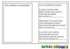 Criação de texto: Caderno de rimas! - ESPAÇO EDUCAR