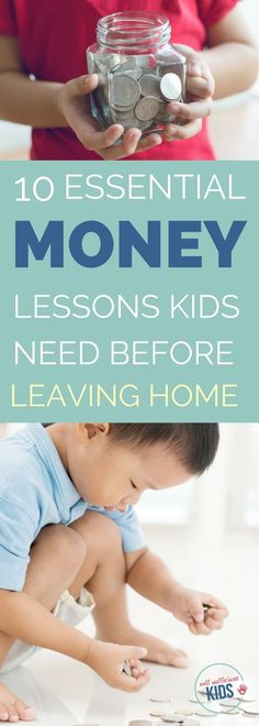 Everything Your Child Needs to Know About Money Before Leaving Home – Money Management Co Parenting Classes, Parenting Articles, Parenting Teens, Good Parenting, Parenting Styles, Practical Parenting, Parenting Plan, Parenting Books, Teaching Kids Money