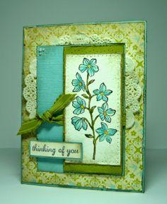 Perry Papercrafts: Vintage Petals