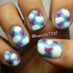 hanick7107 valentine #nail #nails #nailart