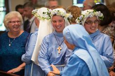 NOVITIATE RITE OF INVESTITURE CEREMONY - DAUGHTERS OF MARY OF NAZARETH