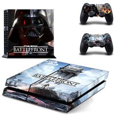 FREE SHIPPING! PS4 Star Wars Battlefront Force Awakens Decal Stickers For Sony Playstation 4 Console