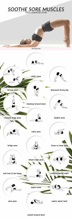 Sooth sore muscles with these poses  | Posted By: AdvancedWeightLossTips.com