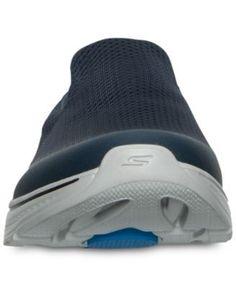 Skechers Men's GOwalk 4 - Mesh Walking Sneakers from Finish Line - Blue 11.5