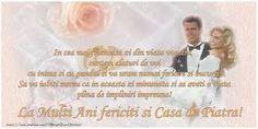Imagini pentru urări de căsătorie Happy Anniversary, Faith, Quotes, Cards, Movies, Movie Posters, Beautiful, Weddings, Tattoo Boy