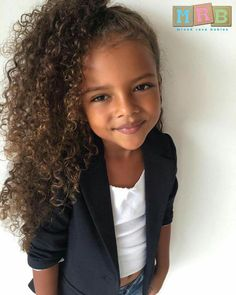West Indian, Caucasian & African American   Keeike - 5 Years  Submission By: @dollface__keeike www.mixedracebabies.org #MRB #MixedRaceBabies #MixedLove