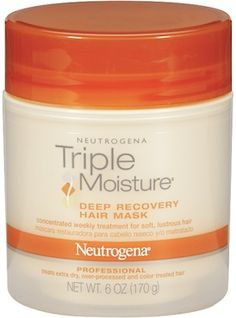Neutrogena Triple Moisture Deep Recovery Hair Mask--great drugstore find!