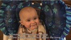 This Baby's Reaction To Her Mum Singing Is The Cutest Ever (via BuzzFeed)
